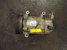 PEUGEOT 207 1.4 16V AIR CON PUMP  96 519 109 80  PRE-FACELIFT  2006 TO 2009