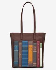 Bookworm Brown Leather marlowe Shopper Bag handmade by yoshi RRP £85.00
