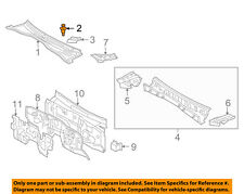 Toyota OEM Front Bumper Side Support Clip 90467-06133-C0 Factory One Only