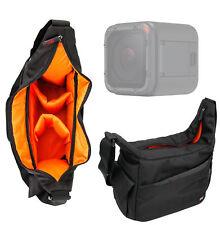 Black & Orange Durable Shoulder Sling Bag for GoPro Hero 5 Black / Session