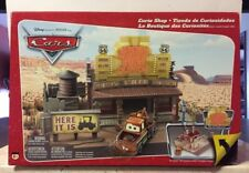 Disney Pixar Cars Original Series 1 Curio Shop Playset - Rare Mattel 2006 Item