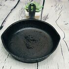 """Vintage Cast Iron Skillet 6.75"""" Unmarked Vollrath #3 Heat Ring Fry Pan"""