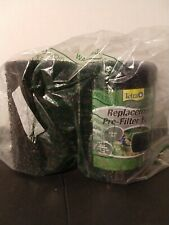 Tetra Pond Replacement Pre-Filter Foam Lot of 2