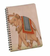 A5 Elephant Print Notebook Notebook/Journal, 120 Ruled Pages Notepad For Office