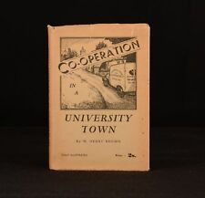 1938 Co-Operation in a University Town W Henry Brown Cambridge First Ed