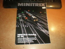 Minitrix catalogue 1982-83    Language: german   Katalog 1982-83 Deutsch