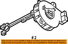 CHRYSLER OEM Airbag Air Bag-Clockspring Clock Spring 5082050AC