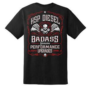 HSP Badass T-shirt Red - 3XL