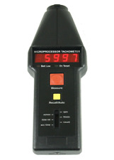 Compact CT6 Optical Tachometer with Contact Adapter - English Units
