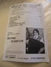 Partition Revue du Bal populaire et de l'Accordéon N°102 de Saint Cyr