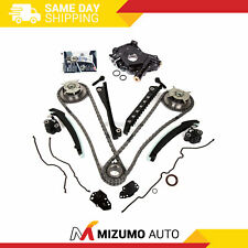 Timing Chain Kit Cam Phaser Oil Pump Gasket Fit 04-10 Ford 5.4 TRITON 3 Valve