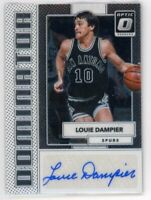 2017-18 Louie Dampier /49 Auto Panini Donruss Optic Dominator