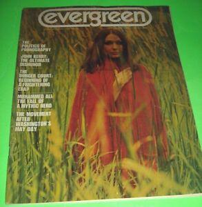 Evergreen September 1971 Magazine John Kerry Muhammad Ali