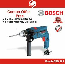 Bosch GSB 501 Professional Impact Drill - Combo Offer