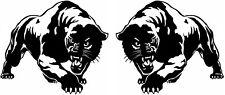 2 L+R LARGE car bonnet side stickers tribal tigers big cat vinyl graphic decals