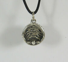 Hot Tub Charm Pendant Necklace .925 Sterling Silver USA Made Travel Souvenir