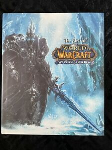 The Art Of World Of Warcraft: Wrath Of The Lich King Hardcover Art BOOK