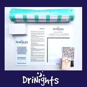 DriNights Bed Wetting alarm & mat Bedwetting Mattress urine Enuresis Sensor AUS