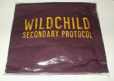WILDCHILD SECONDARY PROTOCOL STONES THROW RECS T-SHIRT XL AUBERGINE NEW & BAGGED