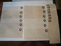 19 U.S. MINT VTG. STAMPED ENVELOPES AND WORLDWIDE STAMPS - UNSEARCHED - TUB BBB