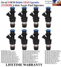 PN-12580681 Fuel Injectors 8x rebuilt MPG UPGRADED />GMC Envoy 5.3L/< OEM ACDelco