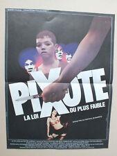 AFFICHETTE DE CINEMA 50 X 38 DU FILM PIXOTTE DE HECTOR BABENCO - 11