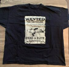 """Firefly Serenity """"Wanted"""" Poster Shirt in 2Xl Browncoats"""
