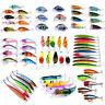 Lot Kinds of Fishing Lures Crankbaits Hooks Minnow Baits Tackle Crank Set Tools
