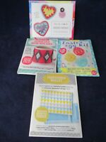 Mollie Makes Four Assorted Craft Kits For Junior Crafters New Sealed