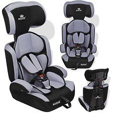 Kidiz® Siège auto enfants siège auto avec extra Coussin 9-36 kg groupe 1+2+3 Gra