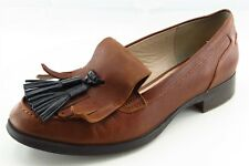 Clarks Narrative Size 40 M Brown Loafer Leather Women Shoes