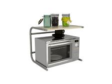 Mueble Repisa Sobre Microondas 49,5 x 36,5 x 40,5cm Estante de Cocina Estanteria