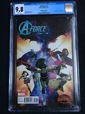 A-Force #1 Molina Variant Cover CGC 9.8 2138742009