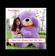 63'' Giant Big Teddy Bear Plush Sleepy Purple Soft Toys Doll Birthday Xmas Gift