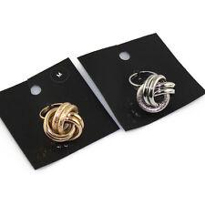 H&M Knot ring - SILVER MEDIUM