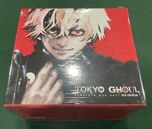 Tokyo Ghoul Complete Box Set Vol. w/ Poster 1-14 English Sealed NEW - Unopened