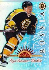 1997-98 Leaf International Universal Ice #149 Sergei Samsonov, Checklist