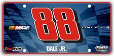 #88 Dale Earnhardt Jr Signature Series Souvenir License Plate SS8808WH