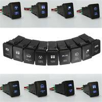 LED Driving Spot Light Bar Rocker Push Switch For Toyota Landcruiser Prado