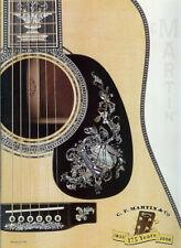 2008 CF Martin Guitar Catalog Marquis Standard Vintage 16 15 X Road Series