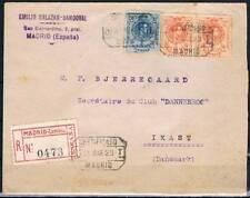 1923.- MADRID A I KAST (DINAMARCA)