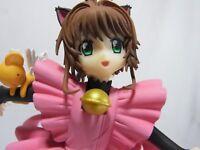 Clamp Card Captor Sakura Special Prize Figure Sakura Kinomoto Lovely Kitten