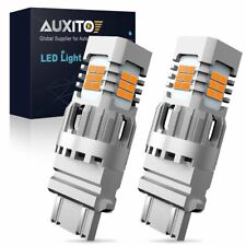 2X AUXITO 3157 3156 T25 No Hyper Flash LED Turn Signal Light Amber Error Free
