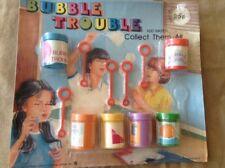 "Vintage Hong Kong Vending Display Card ""Bubble Trouble"" Retro Teaser Premium Toy"