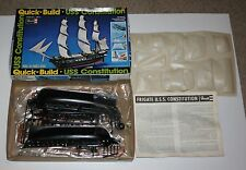 Vintage 1977 Revell Quick Build Constitution Ship Model Kit H-303 New in openbox