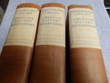 Library of American History  De Luxe Library Edition  6 Vols.  Hardcover  1900