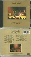 CD - DEEP PURPLE : EN CONCERT LIVE / SMOKE ON THE WATER / COMME NEUF - LIKE NEW