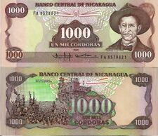 NICARAGUA 1000 CORDOBAS 2015 COMMEMORATIVE DARIO NOTE. 2016 GREAT OPPORTUNITY