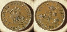 Token Upper Canada : 1850 1 Penny XF-  Couple Scrs Obv  # Tn3   IR2028