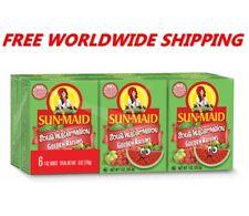 Sun-Maid Sour Watermelon Golden Raisins One Pack (6 Ct) FREE WORLDWIDE SHIPPING